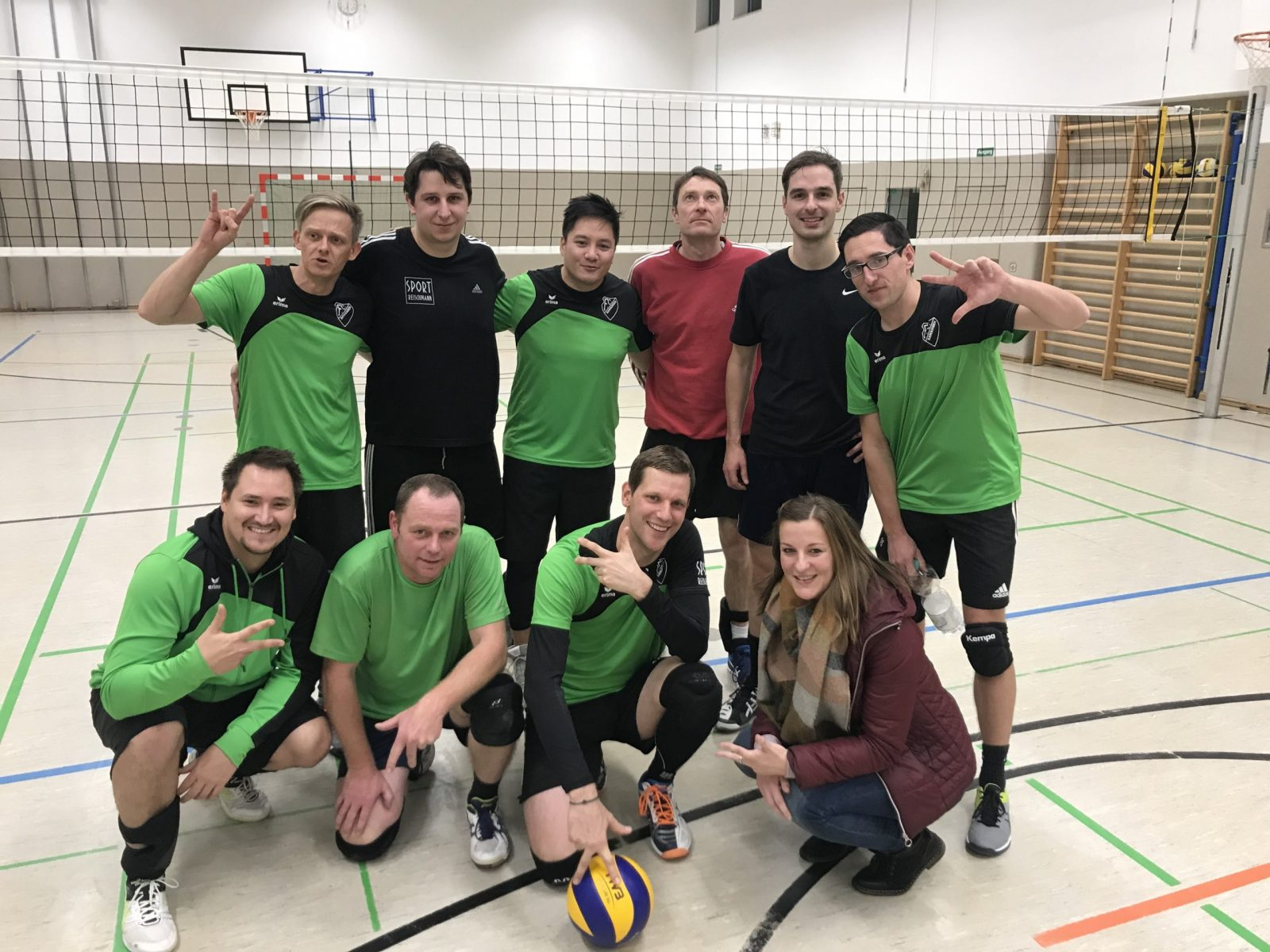 1. Herrenmannschaft Volleyball FC Hawangen